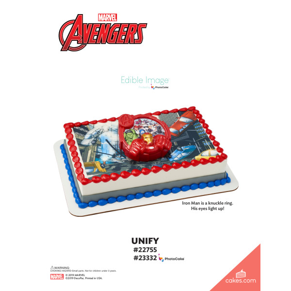 MARVEL Avengers Unify DecoSet® The Magic of Cakes® Page