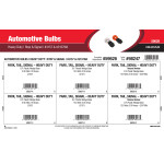 Heavy Duty Stop & Signal Automotive Bulbs Assortment (#3157 & #3157NA)