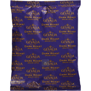 GEVALIA Dark Roast Coffee Urn Pack, 16 oz. Bag (Pack of 12) image