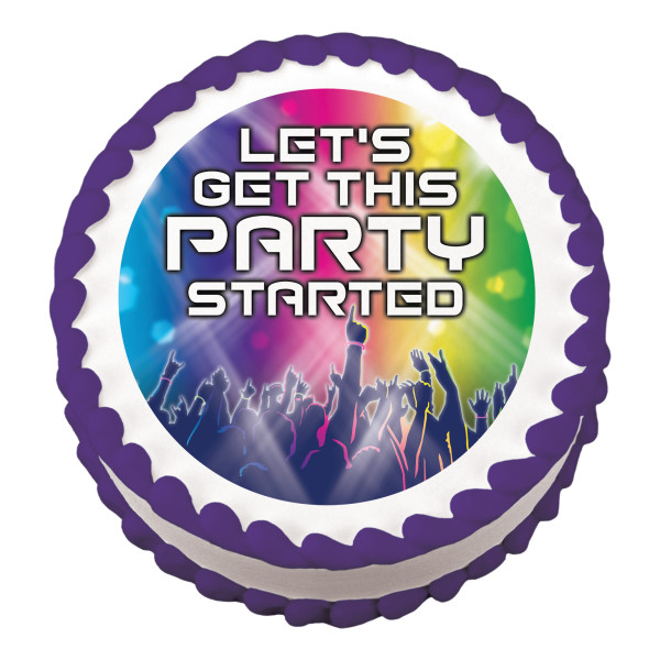 Rock This Party Edible Image®