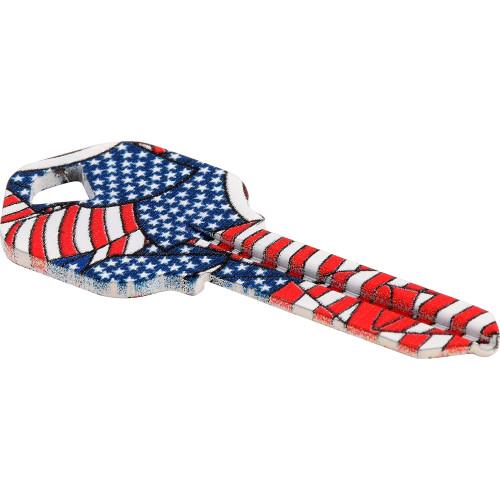WacKey Flag Key Blank Kwikset/66 KW1