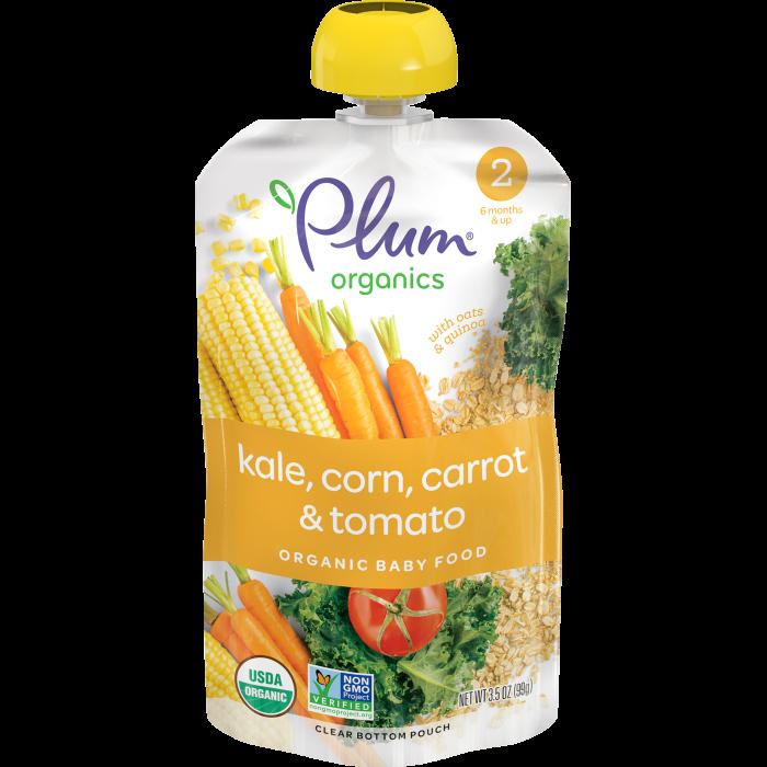 Kale, Corn, Carrot & Tomato Baby Food