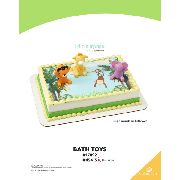 Bath Toys DecoSet® The Magic of Cakes® Page