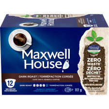 Maxwell House Dark Roast 12 ct Single Serve Coffee Pods