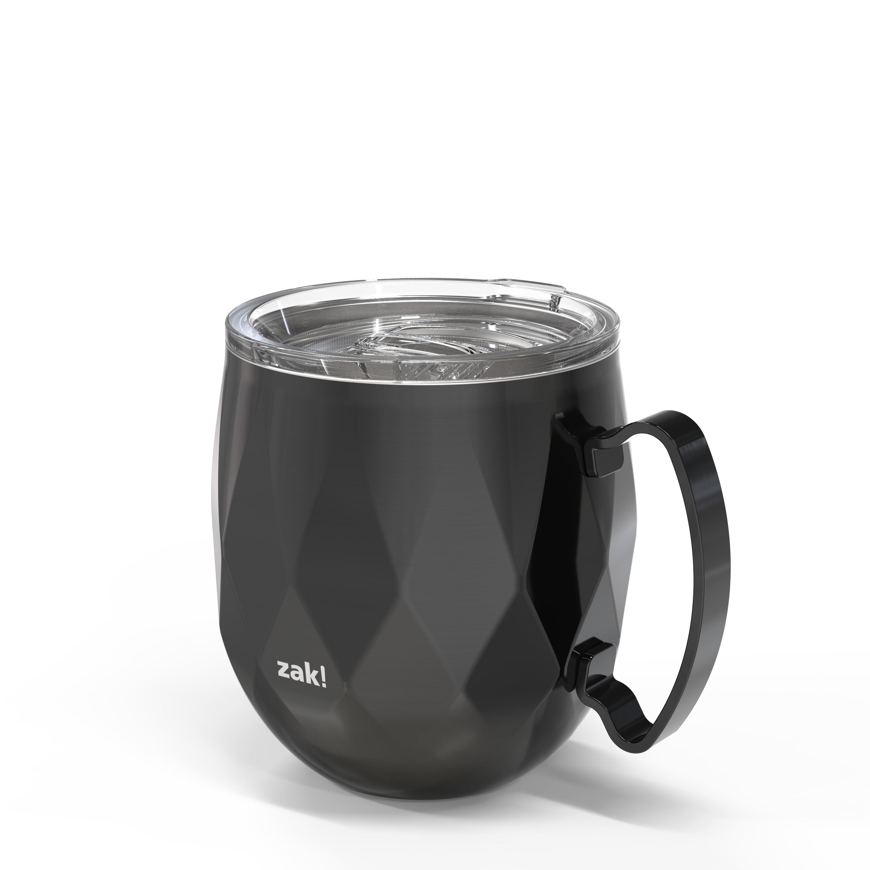 Fractal 19 ounce Vacuum Insulated Stainless Steel Mule Mug, Black slideshow image 3