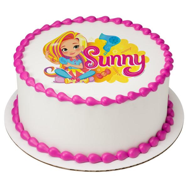 Sunny Day™ Always Sunny With You! PhotoCake® Edible Image®