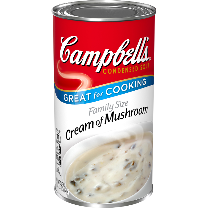 Family Size Cream of Mushroom Soup