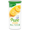 Crystal Light Pure Lemonade Powdered Drink Mix 5 Pitcher Packets, 2.53 oz Canister