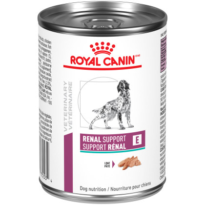 Royal Canin Veterinary Diet Canine Renal Support E Loaf Canned Dog Food