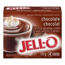 Jell-O Chocolate Instant Pudding Mix