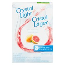 Crystal Light Pitcher Packs, Pink Lemonade