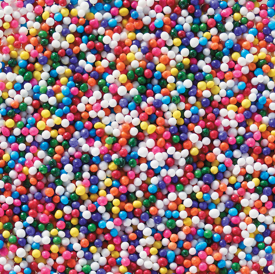 Multi Colored Nonpareils Sprinkles Decopac