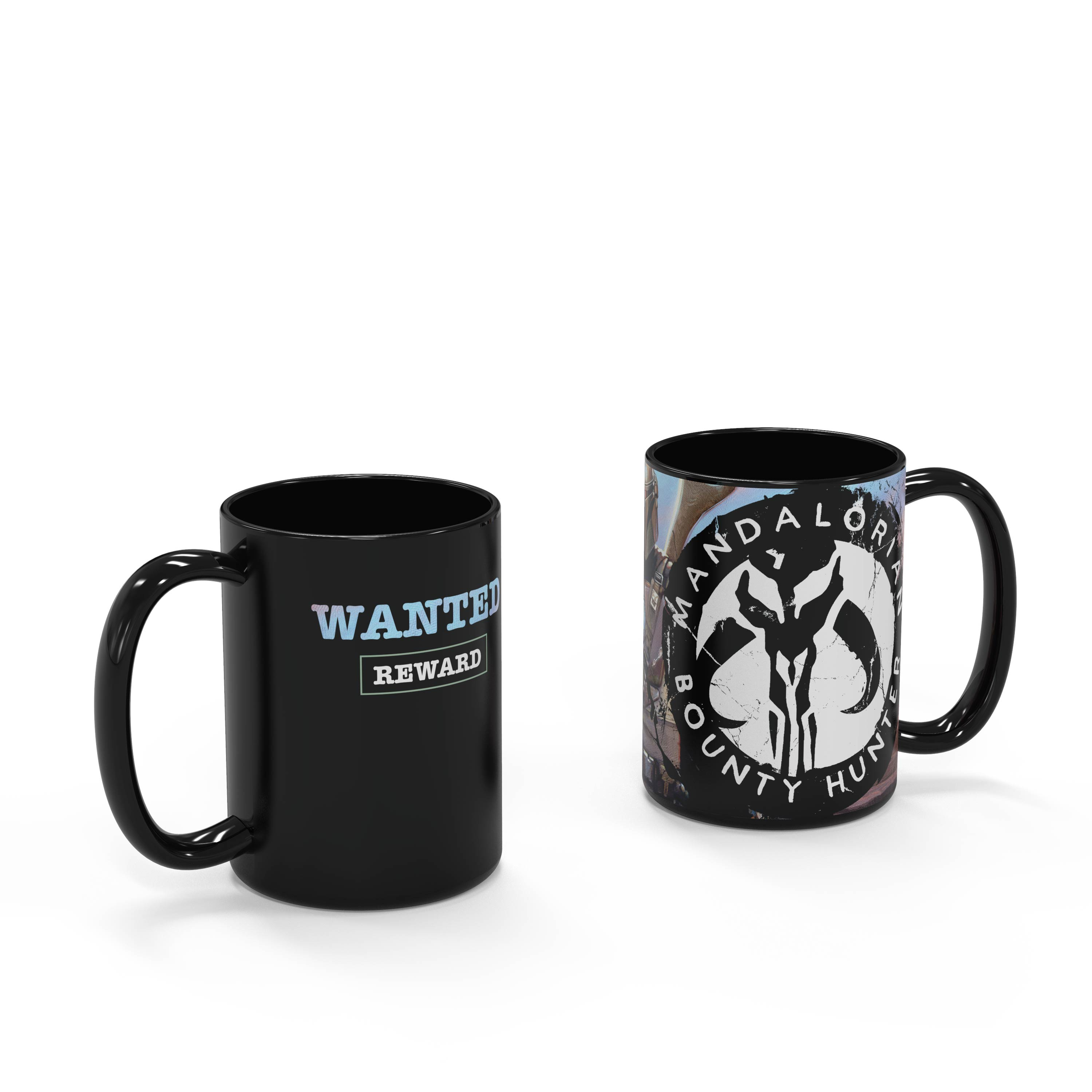 Star Wars: The Mandalorian 15 ounce Ceramic Coffee Mugs, The Mandalorian slideshow image 2