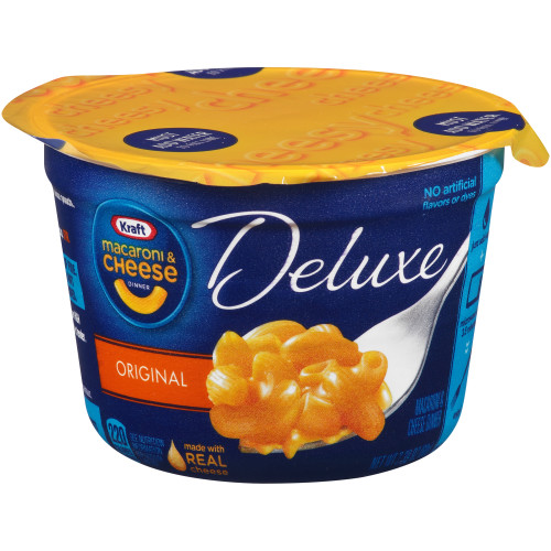 Kraft Deluxe Cheddar Mac n Cheese Cups, 2.39 oz.