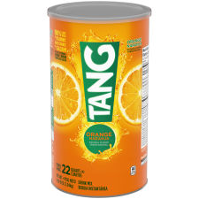 Tang Orange Powdered Drink Mix 72 oz Canister