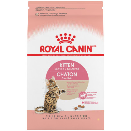 Royal Canin Feline Health Nutrition Kitten Spayed / Neutered Dry Cat Food