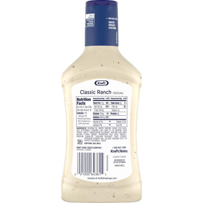 Kraft Classic Ranch Dressing, 16 fl oz Bottle