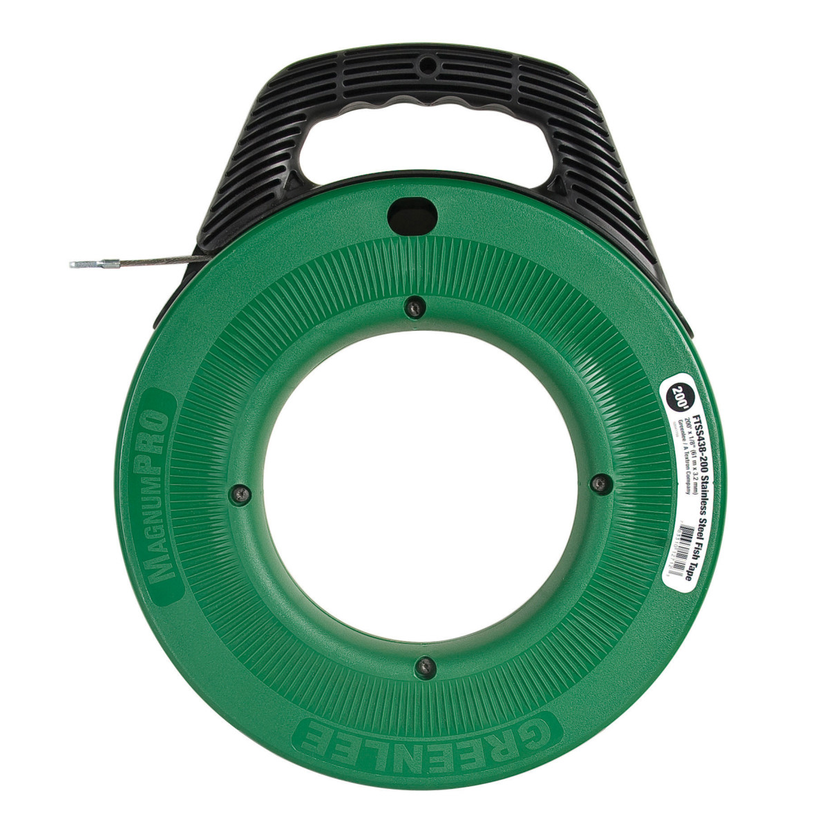 Greenlee FTSS438-200 Stainless Steel Fish Tape - 200' x 1/8""