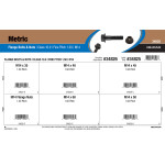 Class 10.9 Metric Flange Bolts & Nuts Assortment (M14-1.50 Fine Pitch)