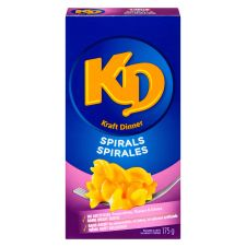 Kraft Dinner Macaroni & Cheese Spirals