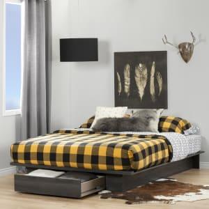 Holland - Platform Bed with drawer