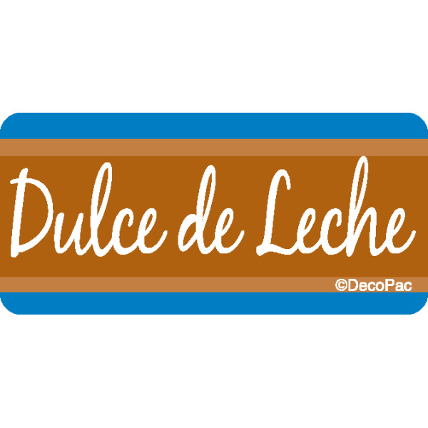 Dulce De Leche Promotional Label