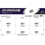 """Chrome Steel Spacers Assortment (7/16"""" & 1/2"""" Inner diameter)"""