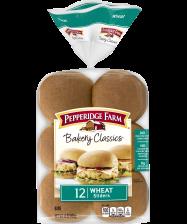Pepperidge Farm® Wheat Slider Buns, split