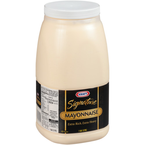 KRAFT Bulk Signature Mayonnaise, 1 gal. Jug (Pack of 4)