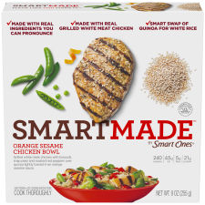 Smart Made Smart Ones Orange Sesame Chicken Bowl 9 oz Box
