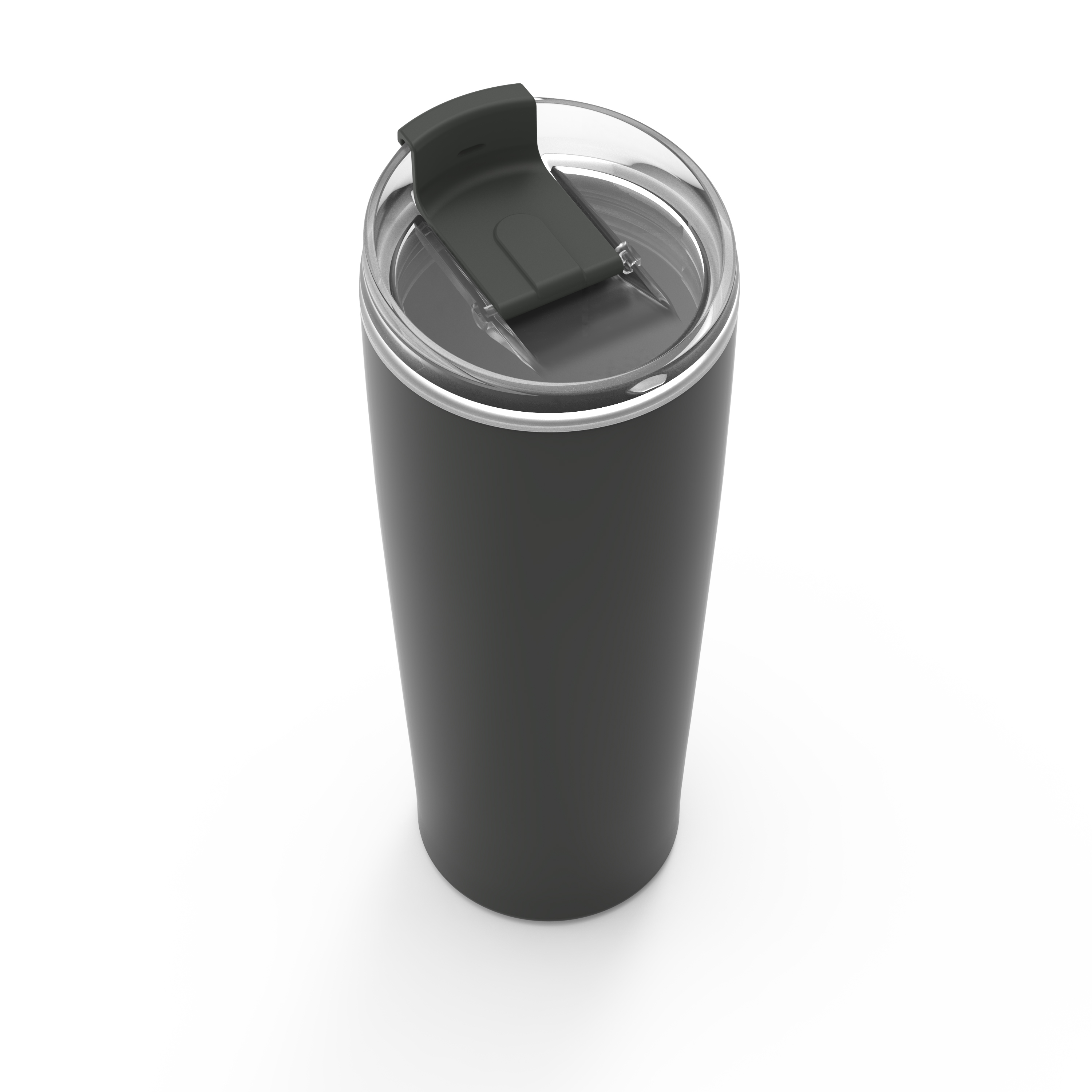 Aberdeen 24 ounce Vacuum Insulated Stainless Steel Tumbler, Charcoal slideshow image 3