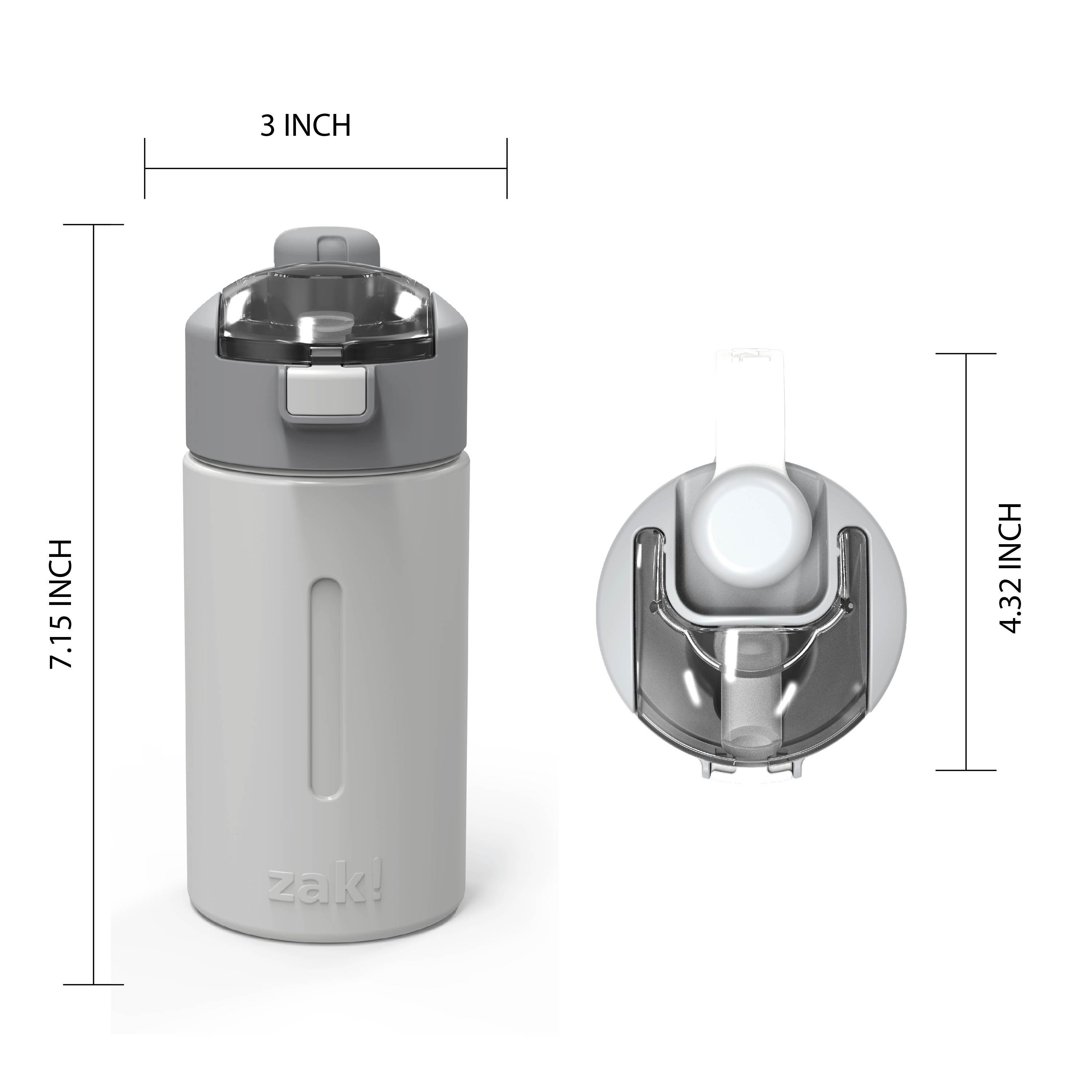 Genesis 12 ounce Vacuum Insulated Stainless Steel Tumbler, Gray slideshow image 9