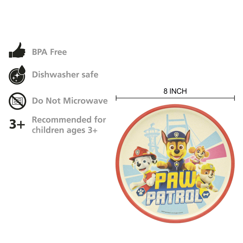 Paw Patrol Kids 3-piece Dinnerware Set, Chase, Marshall & Friends, 3-piece set slideshow image 4