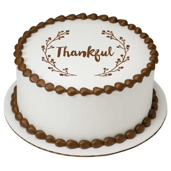 Thankful PhotoCake® Edible Image®