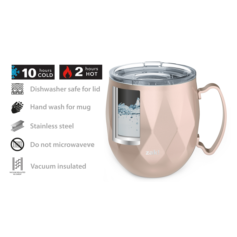 Fractal 19 ounce Mule Mug, Rose Gold slideshow image 7