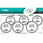 "Nitrile O-Ring Assortment (3/16"" Width)"