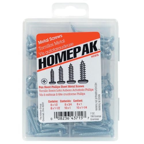 HOMEPAK PHP Sheet Metal Screws Assortment