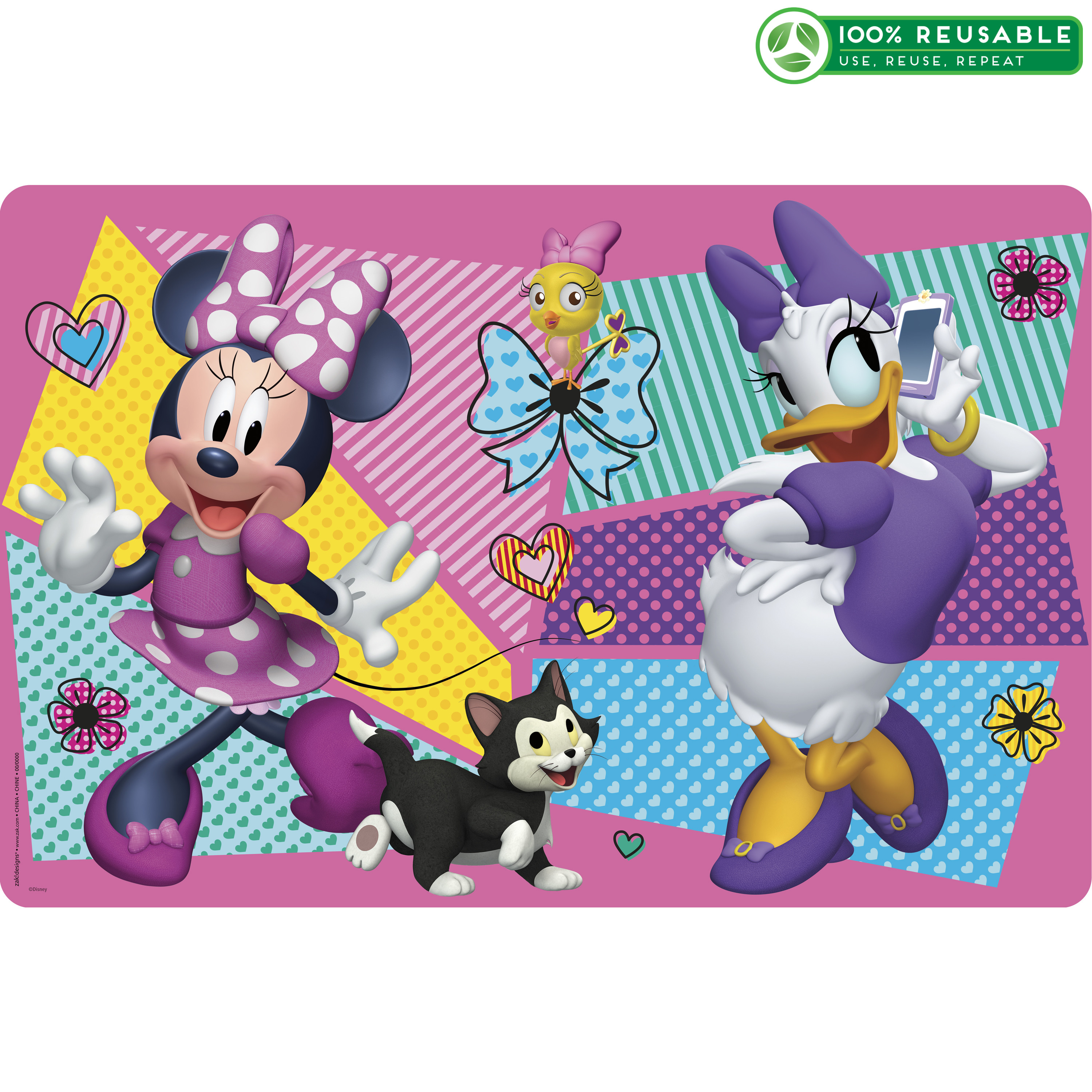 Disney Kid's Placemat, Minnie Mouse slideshow image 1