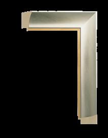 Intaglio Silver w/Gold 2