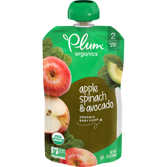 Apple, Spinach & Avocado Baby Food