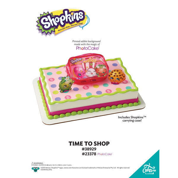 SHOPKINS TIME TO SHOP-BGO TMOC PAGE The Magic of Cakes® Page