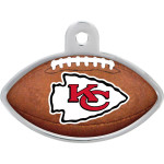 Kansas City Chiefs Large Football Quick-Tag