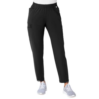 Urbane Impulse Four-Pocket Cargo Scrub Pants for Women: Contemporary Slim Fit, Tapered Leg Medical Scrub Pants 9210-Urbane