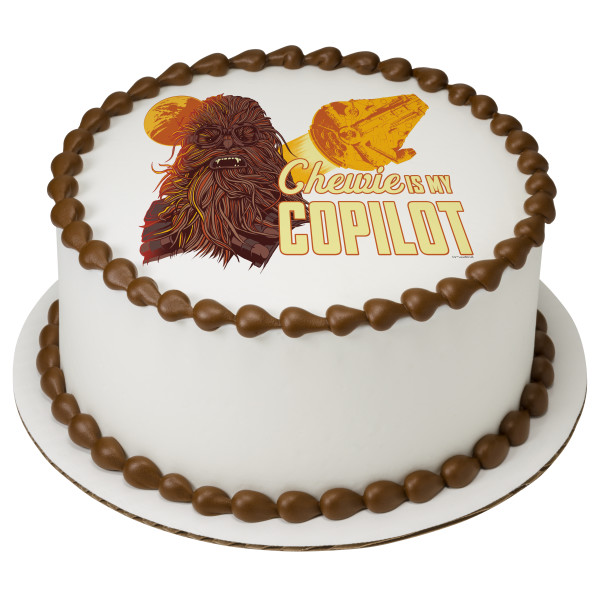 Solo: a Star Wars™ Story Chewie is my Copilot PhotoCake® Edible Image®
