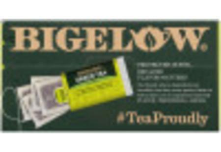 Top panel of Green Tea 40 tea bags per box