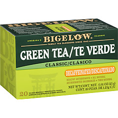 Te Verde Descafeinado - Case of 6 boxes- total of 120 teabags