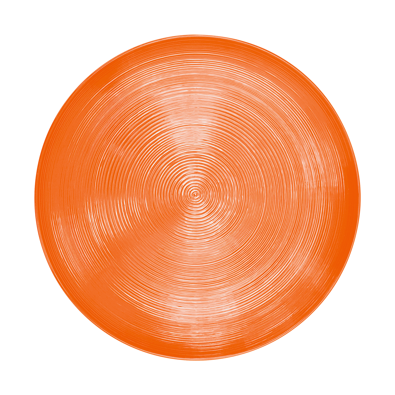 American Conventional Plate & Bowl Sets, Orange, 12-piece set slideshow image 3