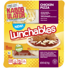 Oscar Mayer Lunchables Chicken Pizza 4 oz Tray