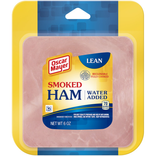 Oscar Mayer Smoked Cooked Ham 6 oz