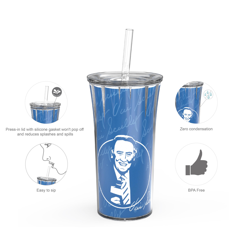 Zak Hydration Insulated Tumbler, Vin Scully, 2-piece set slideshow image 7